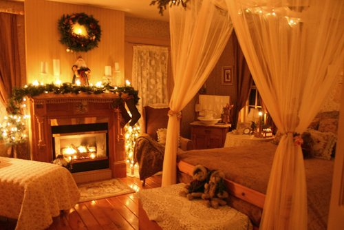 Christmas, romance, bed and breakfast